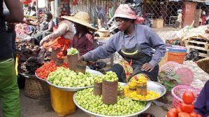 Accra market makola