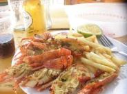lobster french fries ghana beach.jpg