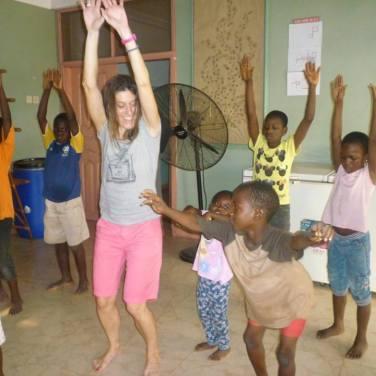 zumba kids orphanage