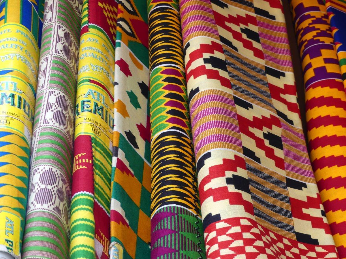 Ghanaian Fabrics Batik Wax And Kente My Expat Life In